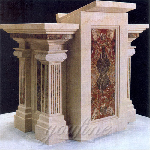 2017 Direct Factory Luxury Marble Pulpit Large Variety in Stock Now
