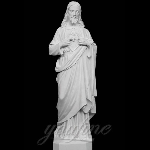 Blessing Sacred Heart of Jesus Christ Statue for Church decor