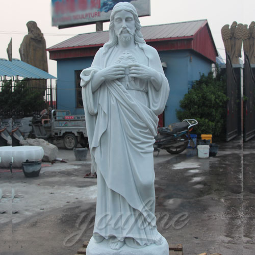 Factory Direct Supply Jesus Marble Statue on Hot Selling