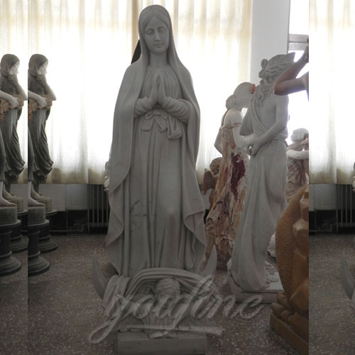 Famous Design Religious Blessed Life Size Virgin Mary Outdoor Statue for Sale