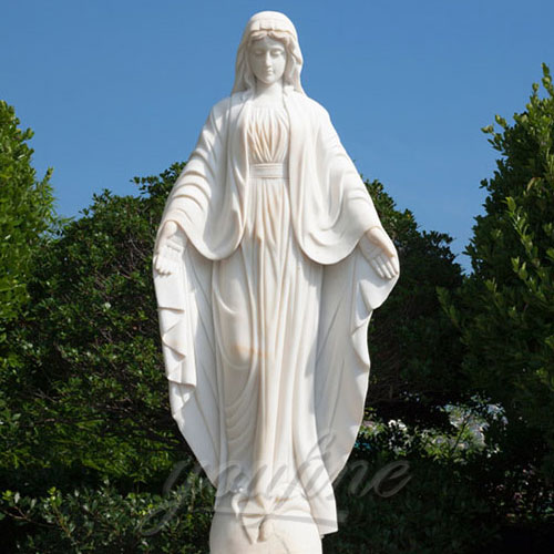 New Design Religious Virgin Mary standing Church Statues for Wholesales