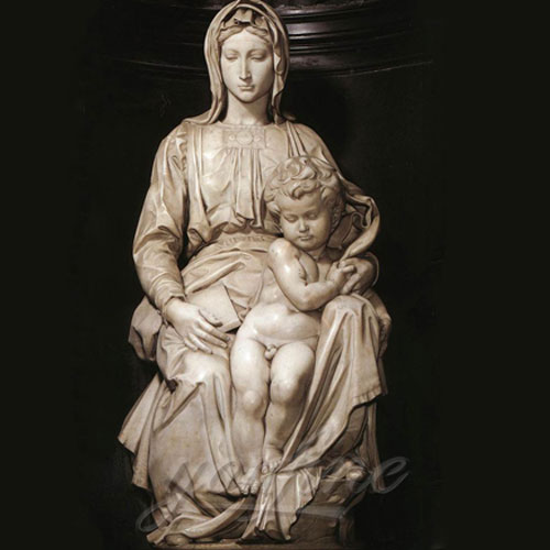 New Design Christian Religious Virgin Mary Marble Statues for church