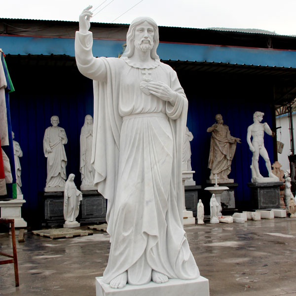 Life Size Religious Sculpture Jesus Christ Marble Statue for Sale CHS-289