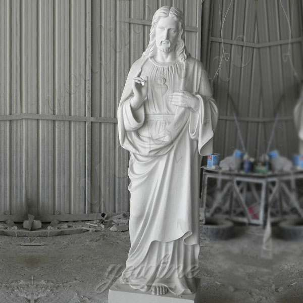 Classic Marble Life Size Jesus Statue Religious Sculpture for Sale CHS-298
