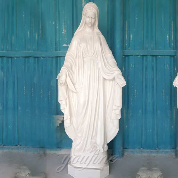 Where to Buy Blessed Outdoor Mother Mary Statue for School Decor CHS-272
