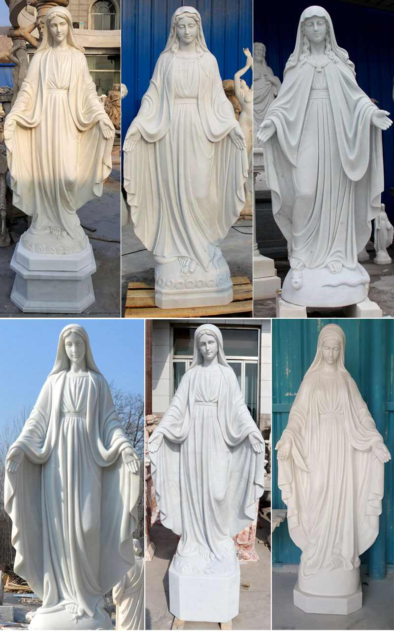 More designs of Virgin Mary Marble Statues