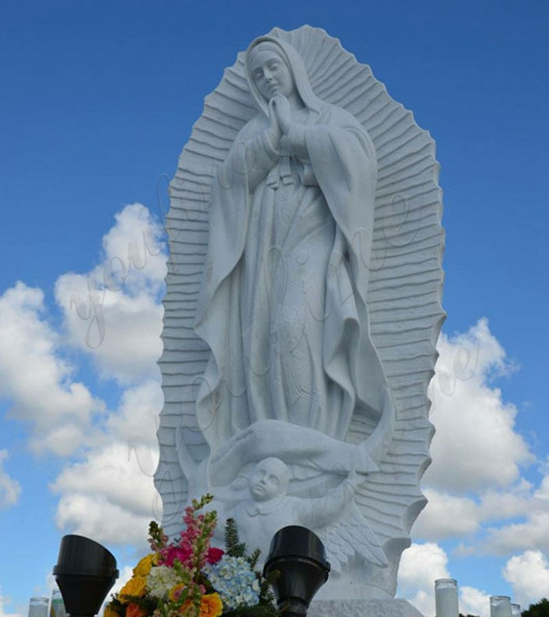 Our-Lady-of-Guadalupe-marble-statues-