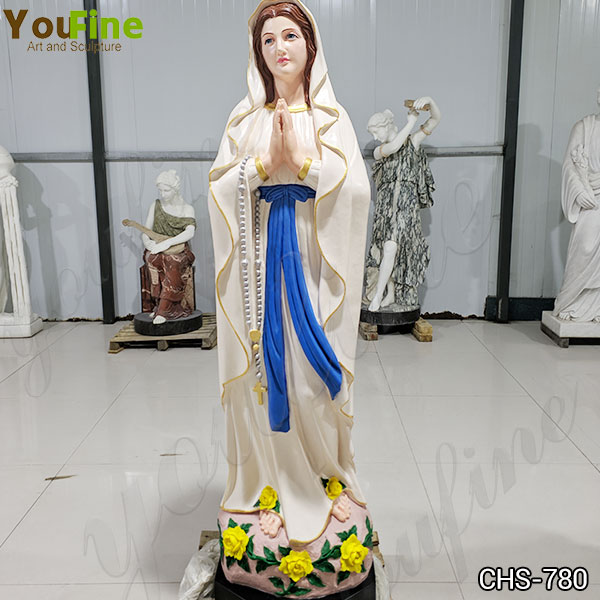 blessed mother Mary marble statue