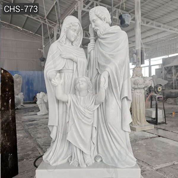 Catholic Holy Family Statues of Mary Joseph and Jesus for Sale
