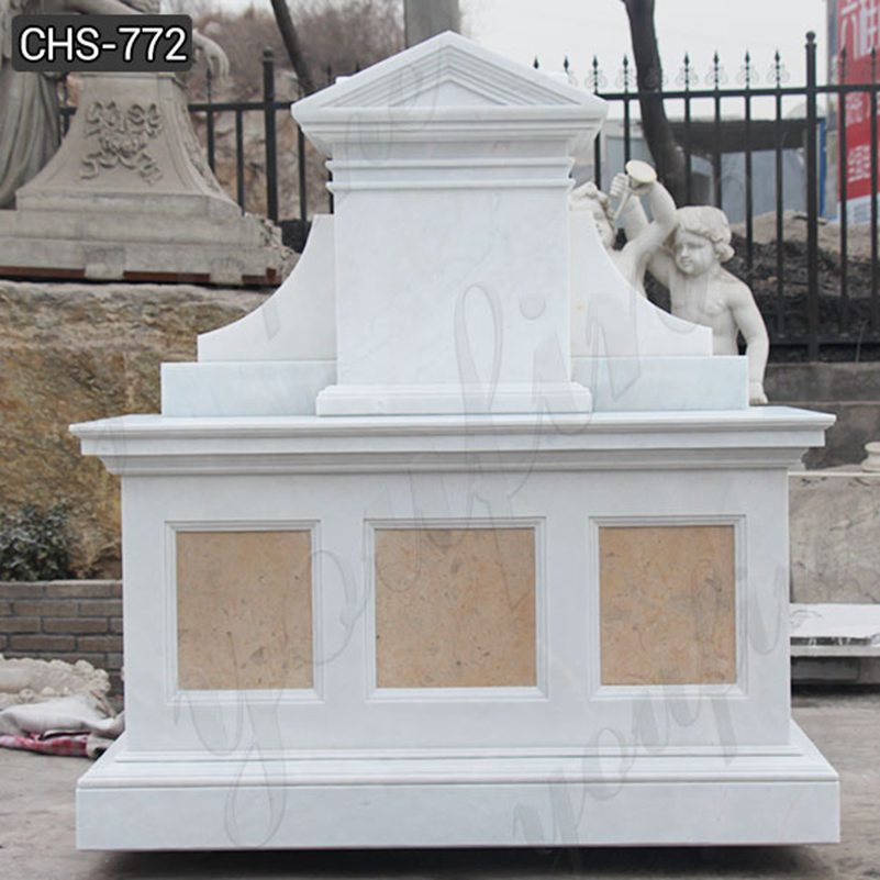Life Size Modern Marble Altar Design for Church Suppliers CHS-772