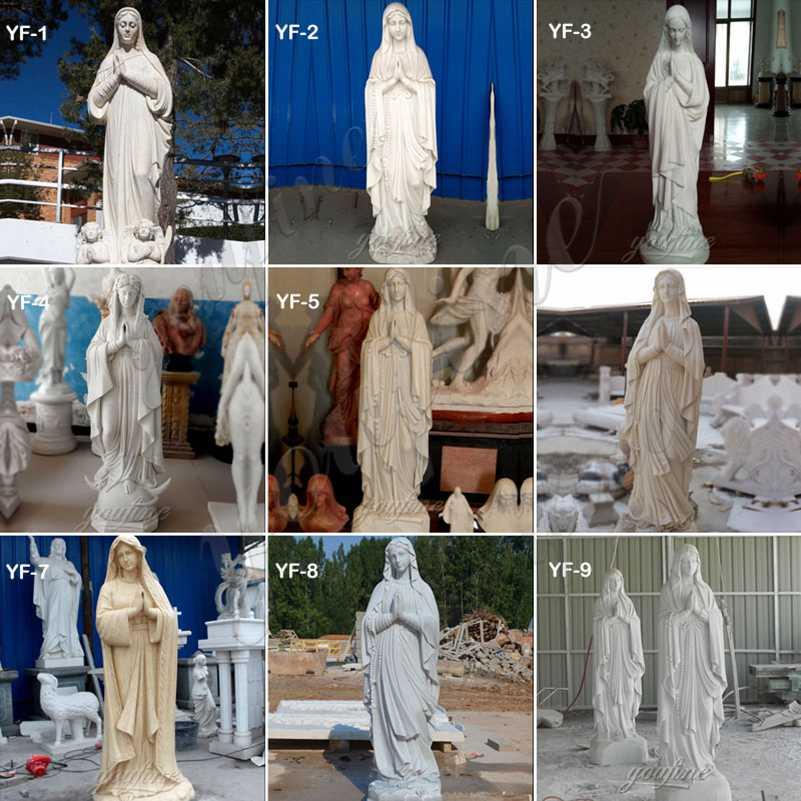 virgin mary statue outdoor