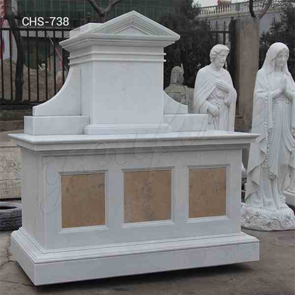 Factory Supply Catholic Modern Church Marble Altars for Sale CSS-738
