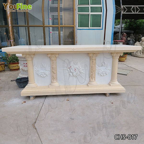 High Quality Modern Marble Church Altar Design from Factory Supply CHS-817