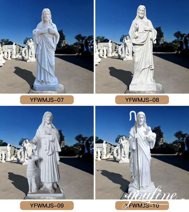 religious marble life size jesus statue